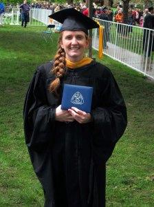 sarah graduates 1